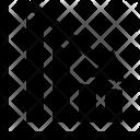 Loss Bar Chart Icon