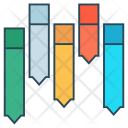 Analytic Graph Chart Icon