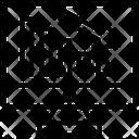 Graph Down Loss Business Loss Icon