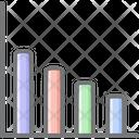 Loss Graph Icon