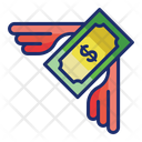 Loss Rebates Cash Discount Icon