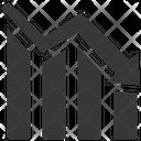 Arrow Bars Chart Icon