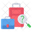 Lost Found Luggage Icon