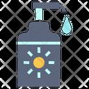 Lotion Sun Cream Icon