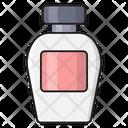 Lotion Cream Makeup Icon