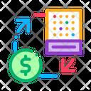 Money Lottery Exchange Icon