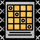 Lottery Lotto Bingo Icon