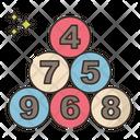 Lottery Balls Ball Casino Icon