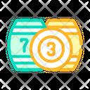 Lotto Kegs Color Icon
