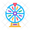 Lottery wheel Icon