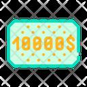 Money Winning Card Icon