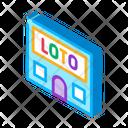 House Lotto Graphic Icon