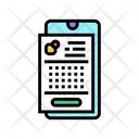 Lotto Application Phone Application Phone Icon