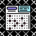 Lotto Card Card Ball Icon