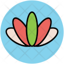 Lotus Flower Waterlily Icon