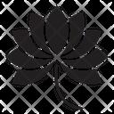 Lotus Flower Yoga Icon