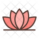 Lotus Floral Wellness Icon