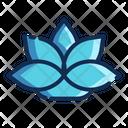 Lotus Flower Decoration Icon