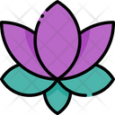 Lotus Lotus Flower Spa Icon