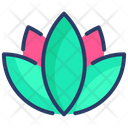 Asia Lotus Meditation Icon