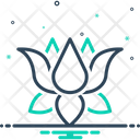 Lotus Nenuphar Nymphaea Icon