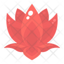Lotus Flower Floral Icon