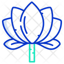 Lotus Flower Nature Icon