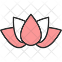 Lotus Flower New Year Icon