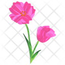 Water Lily Lotus Bud Seasonal Flower Icon