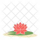 Lotus Flower Greenery Icon