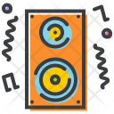 Loudspeaker Music Party Icon