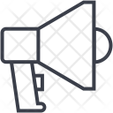 Loudspeaker Bullhorn Megahorn Icon