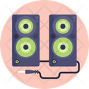 Hardware Computer Loud Speaker Icon