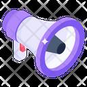Megaphone Loudspeaker Announcement Icon
