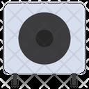 Loudspeaker Subwoofer Woofer Icon
