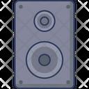 Loudspeakers Subwoofer Audio Icon