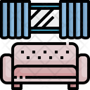 Lounge Sofa Couch Icon