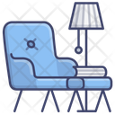 Chair Living Room Icon