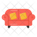 Armchair Lounge Sofa Couch Icon