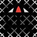 Lounge Umbrella Protection Icon