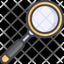 Loupe Magnifying Oneline Icon
