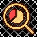 Loupe Pie Analysis Pie Cchart Chart Icon