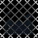 Line X Louvre Icon