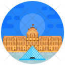 Louvre Museum Icon
