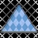 Louvre Pyramid Pyramid Landmark Icon