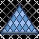 Louvre Pyramid Icon