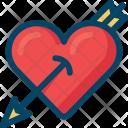 Love Heart Arrow Icon