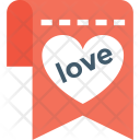 Love Message Sign Icon