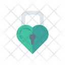 Love Lock Secure Icon