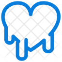 Love Melt Heart Icon